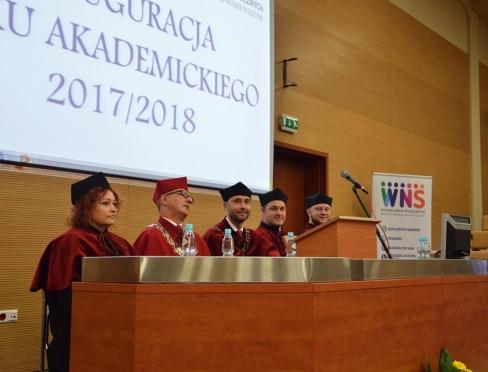 Uroczystość Inauguracji roku akademickiego 2017/2018 na Wydziału Nauki Społecznych