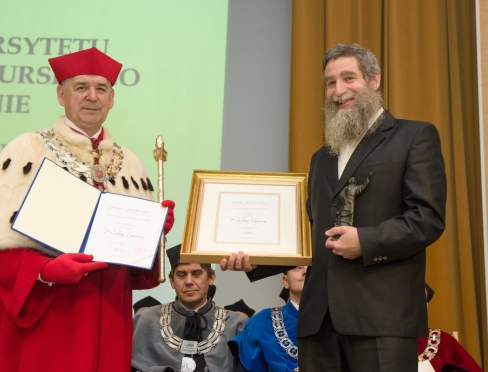 Rektor i nagrodzony