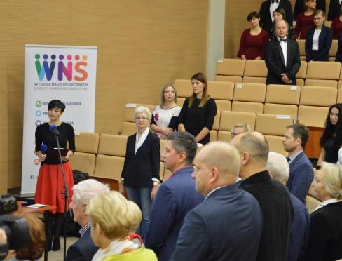 Inauguracja roku akademickiego 2017/2018 WNS