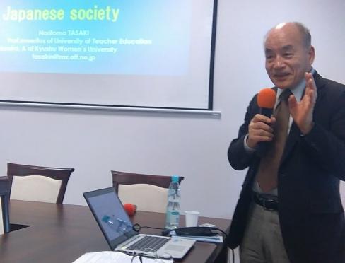 Wizyta prof. Noritomo Tasaki z Japonii