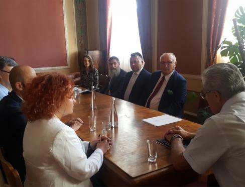 Spotkanie u Rektora Politechniki Lwowskiej