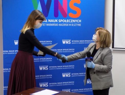 Aleksandra Piotrowska nakręciła film i zdobyła nagrodę