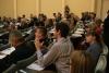 Pracownicy Instytutu Nauk Politycznych WNS na konferencji w Helsinkach