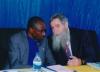 Iringa – Rozmowy prof. A. Żukowskiego z Prorektorem dr. Evaristo Haulle z The Mkwawa University College of Education in Iringa, University of Dar es Salaam, (1.10.2019).