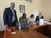 Zanzibar – spotkanie z władzami The State University of Zanzibar w celu podpisania umowy o współpracy. Od lewej: dr hab. D. Gemechu, Prorektor dr. Haroun Ayoub Maalim, JM Rektor dr Zakia Mohammed Abubakar, prof. A. Żukowski (29.09.2019).