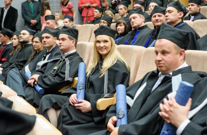 Promocje habilitacyjne i doktorskie, nadanie tytułu doktora honoris causa Arcybiskupowi Piszczowi