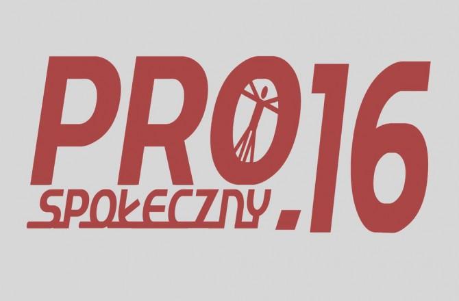 """Plebiscyt """"PROspołeczny.16"""""""