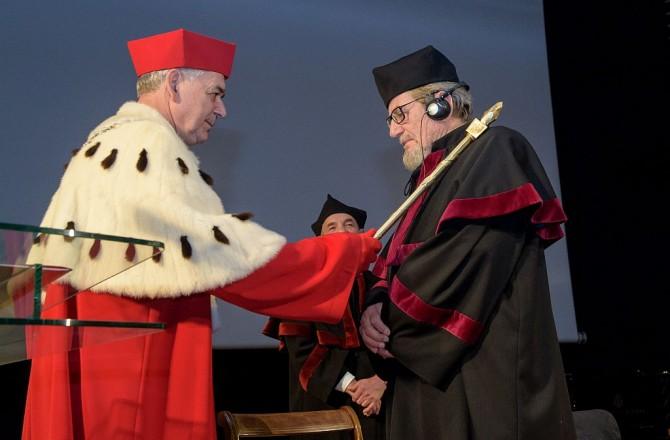 Nadanie doktoratu honoris causa prof. Oskarowi Gottliebowi Blarrowi – w obiektywie
