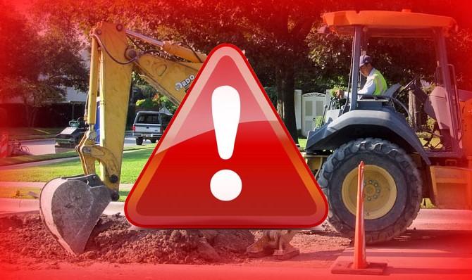 Prace budowlane budowlane przy budynku WNS (ul. Żołnierska) – apelujemy o ostrożność!